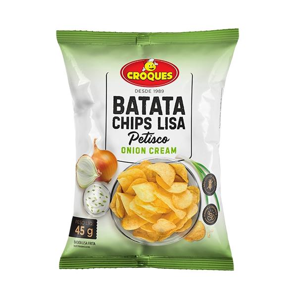Batata Chips Lisa Onion Cream 45g