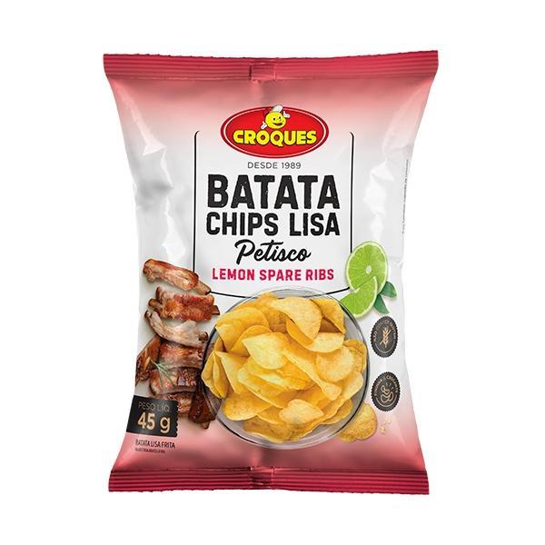 Batata Chips Lisa Lemon Spare Ribs 45g