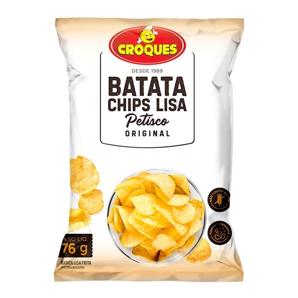 Batata Chips Lisa Original 76g