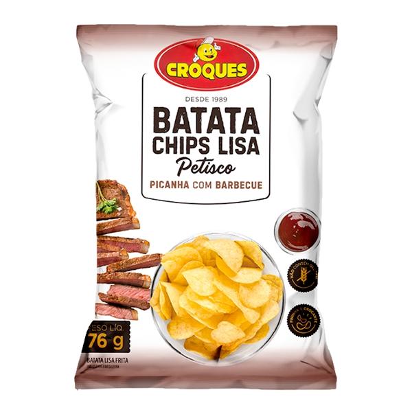Batata Chips Lisa Picanha com Barbecue 76g