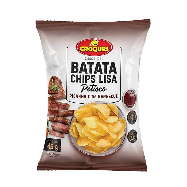 Batata Chips Lisa Picanha com Barbecue 45g