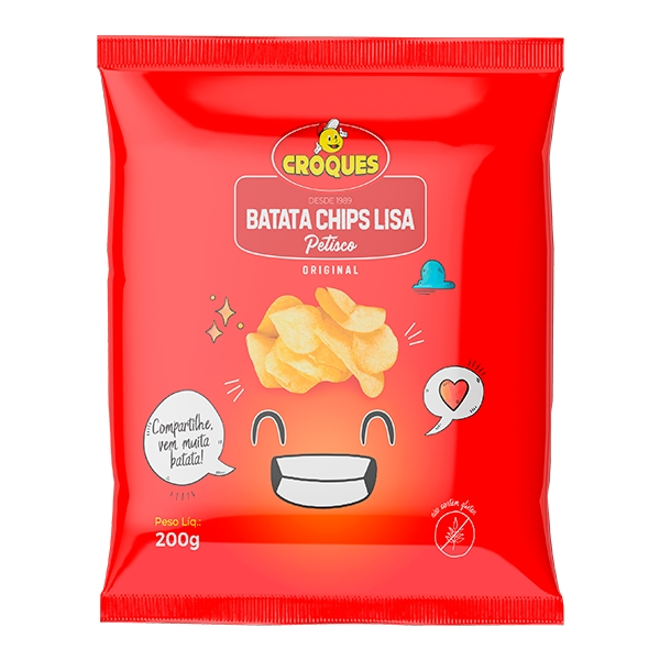 Batata Chips Original 200g
