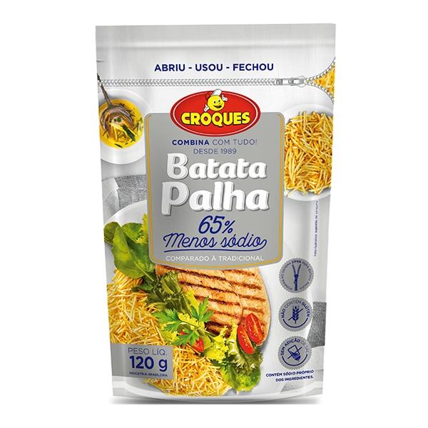 Batata Palha 65% Menos Sódio 120g