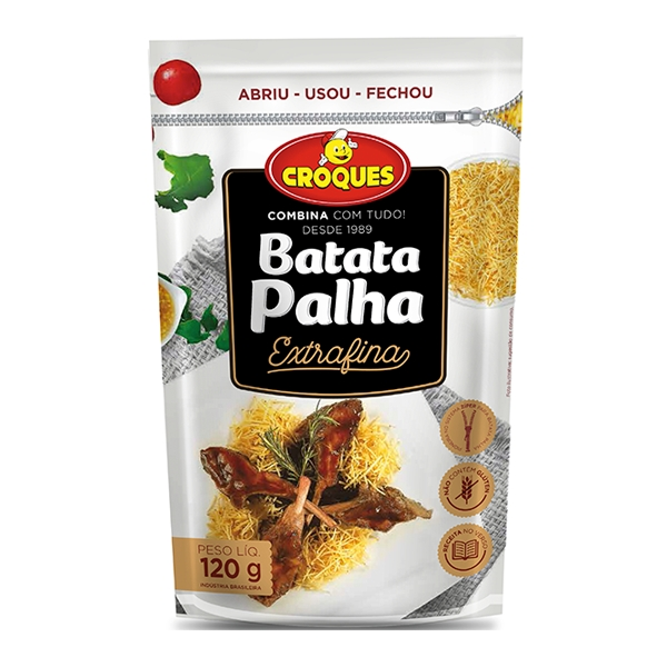 Batata Palha Extrafina 120g