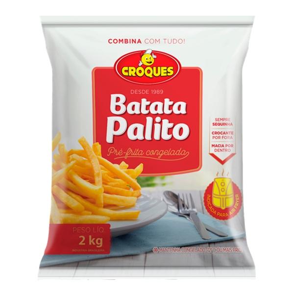 Batata Pré-Frita Congelada 2Kg