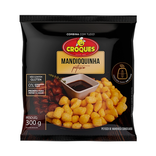 Mandioquinha Petisco Pré-Frita Congelada 300g